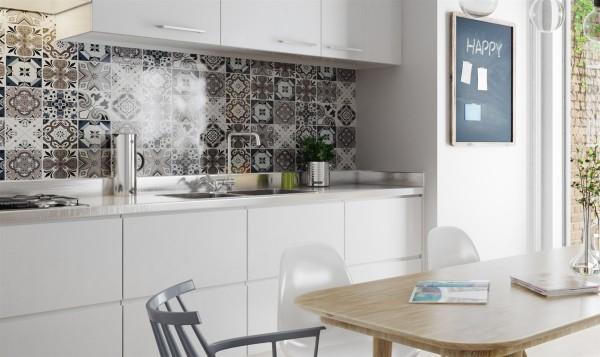 Decorar un interior nórdico cocina
