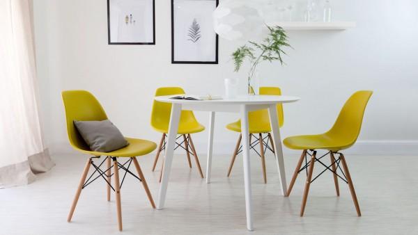 Actualizar Salón Comedor Sillas Amarillas
