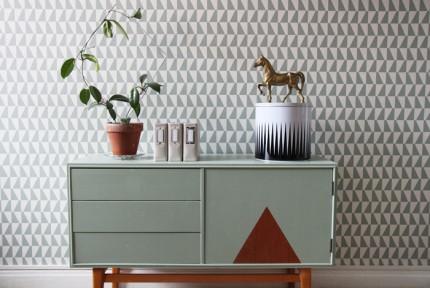 Tendencias de decoración en 2016 muebles reciclados