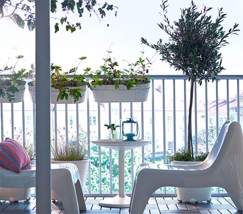 balcones pequeños Ikea