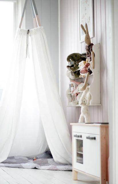 Dormitorios infantiles de estilo nórdico tendencias 2016