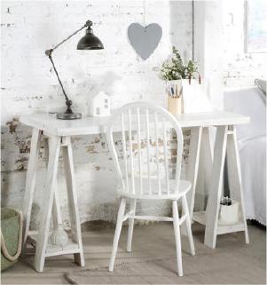 Muebles con estilo nórdico - escritorio colección nordic