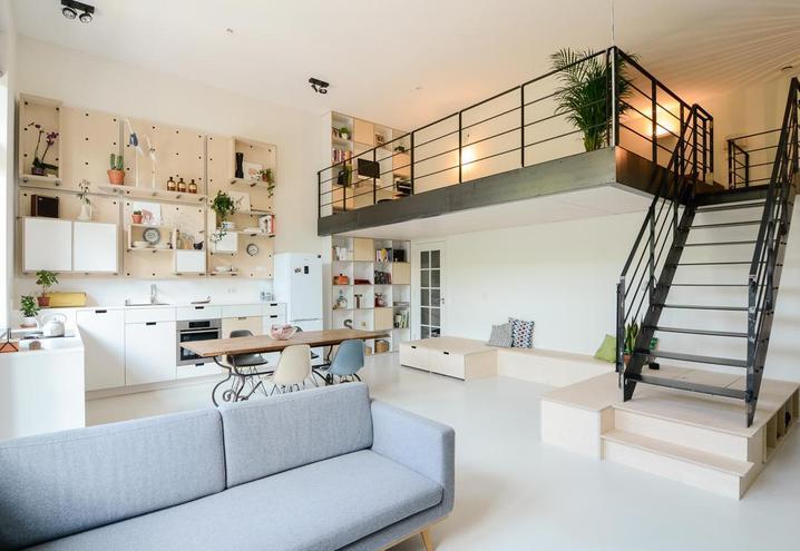 Decoración de espacios grandes open plan