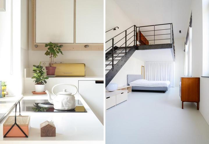 Decoración de espacios grandes color blanco