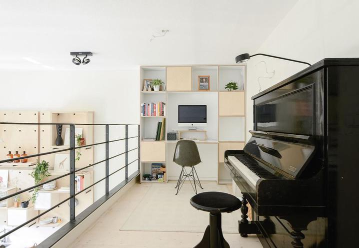 Decoración de espacios grandes muebles a medida