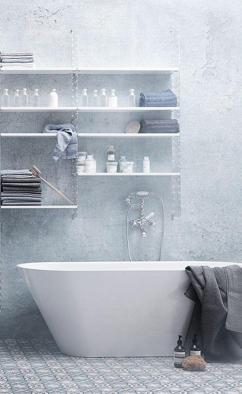 Baño con estilo nórdico