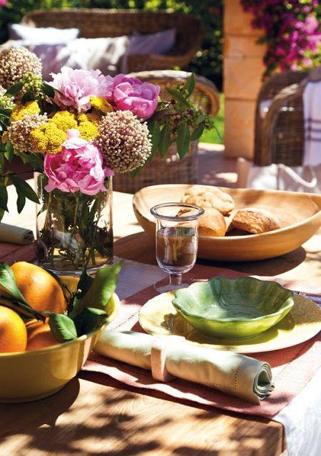 Comida al aire libre - vajilla
