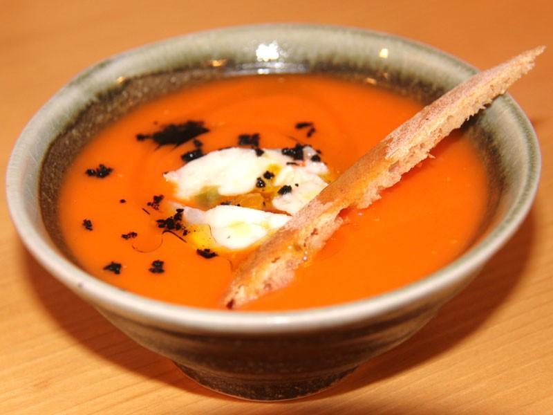 Restaurante Kokken Bilbao - plato menú degustación