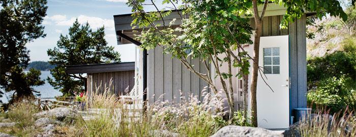 Diminuta casa de verano en Suecia