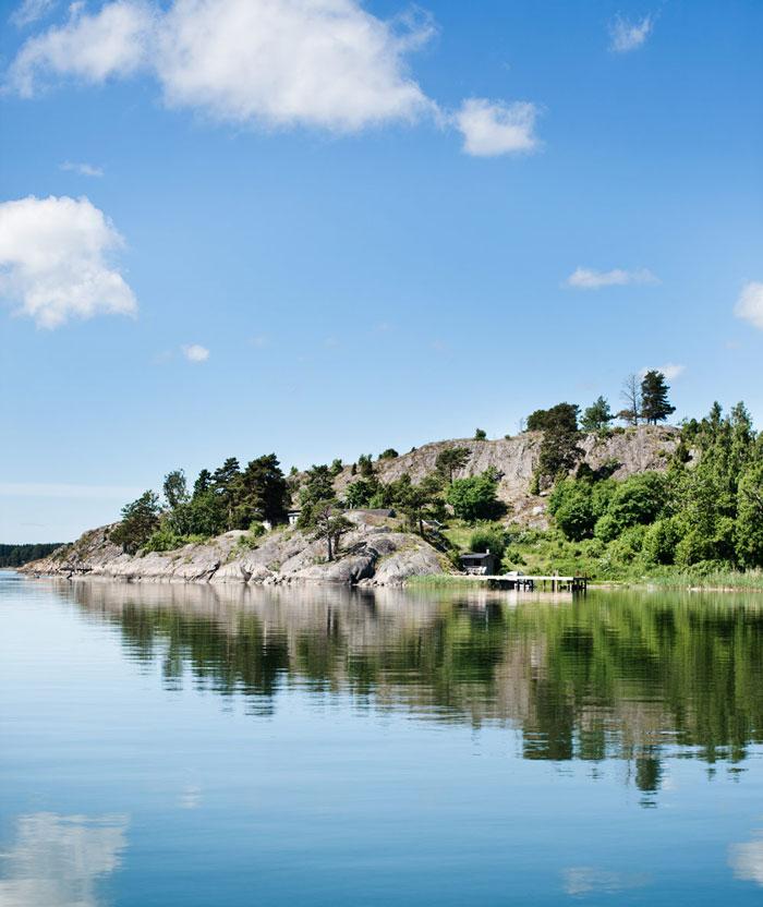 Casa de Verano en Suecia embarcadero