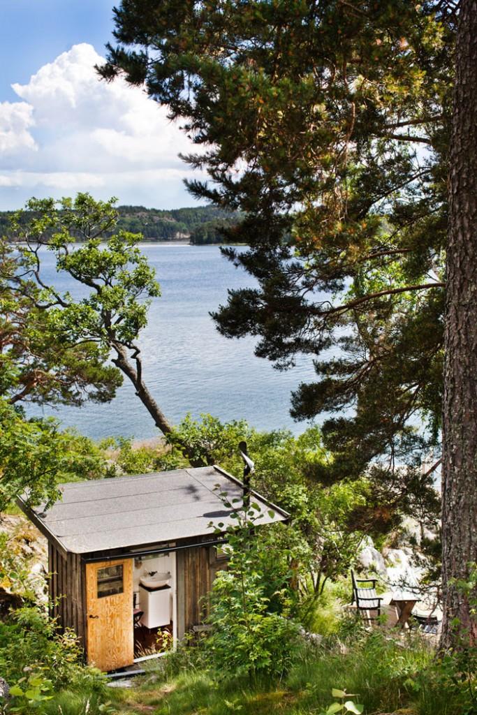 Casa de Verano en Suecia - Exteriores