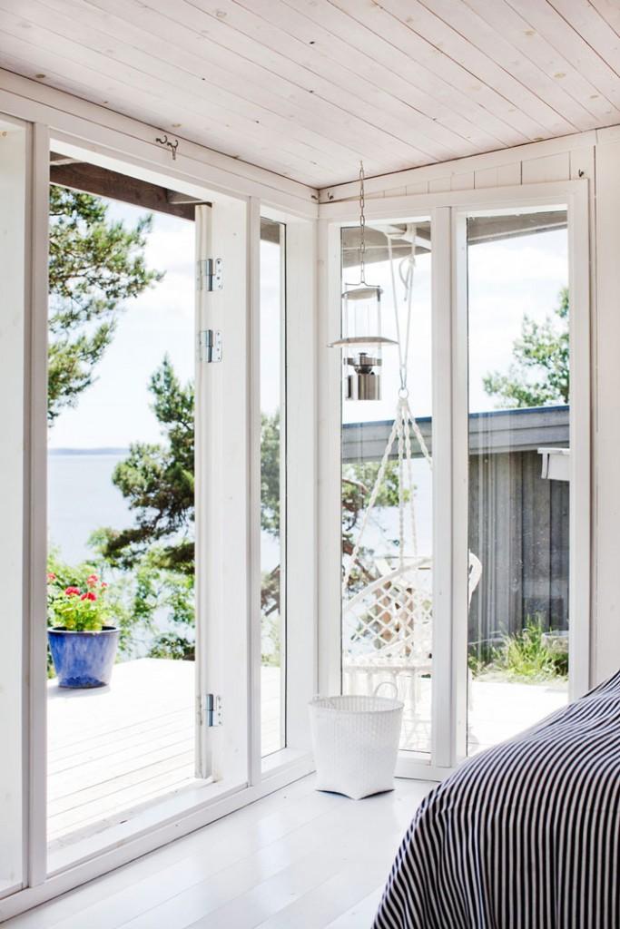 Casa de Verano en Suecia Dormitorio