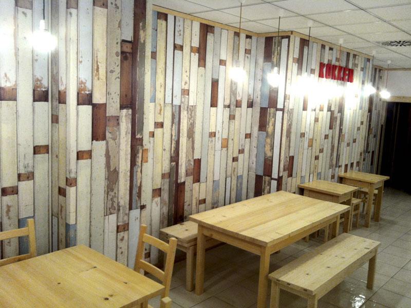 Restaurante Kokken Bilbao Interior nórdico