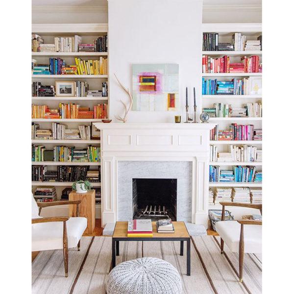 soluciones para organizar libros en horizontal y vertical