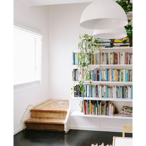 soluciones para organizar libros - rincón de lectura