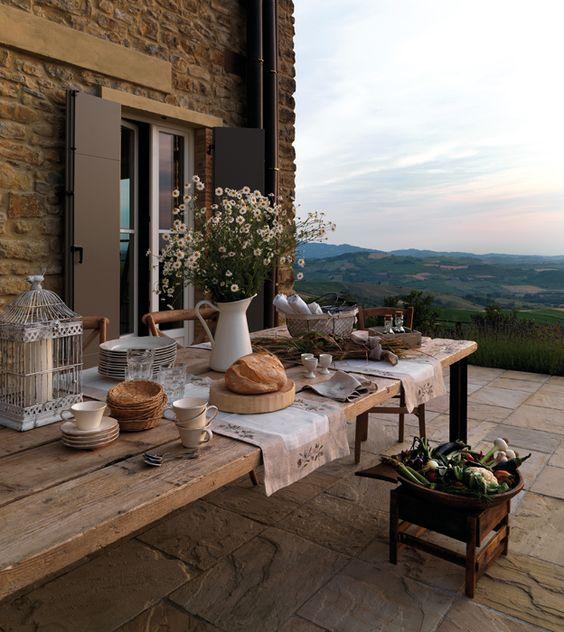 Desayunos de Verano: Mesas Bonitas