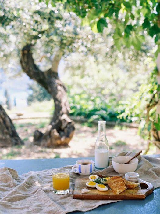 Desayunos de Verano alfresco