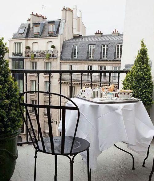 Desayunos de Verano en el balcón