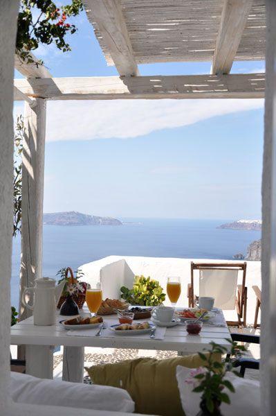 desayunos de verano al aire libre