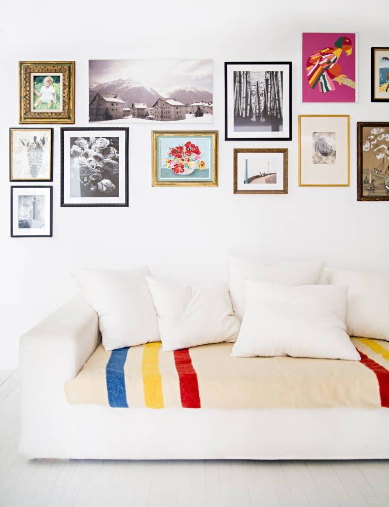 Renovar un sofá anticuado - tejido