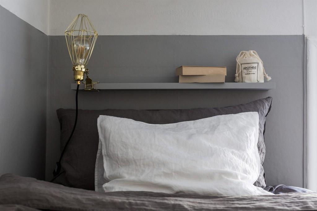 Detalles de estilo nórdico - dormitorio