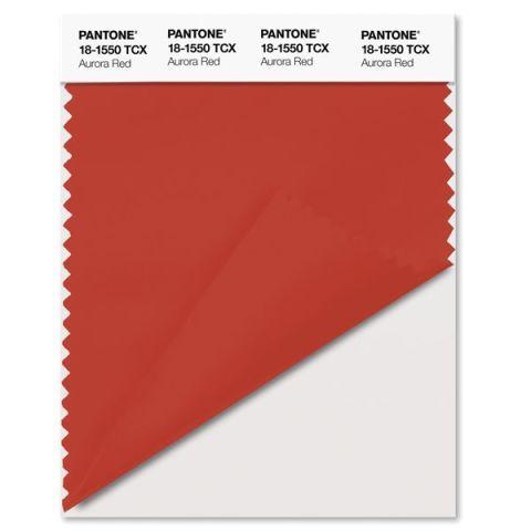 Pantone F/W 2016 Aurora Red