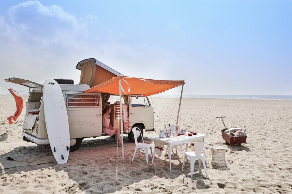 Glampling en la playa - sillas Tólix