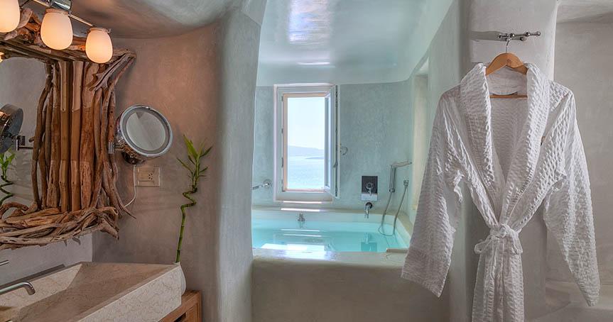 hotel Mystique detalles suites