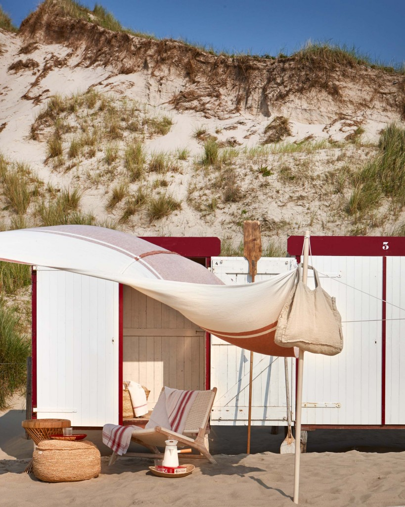 Glamping en la playa decoración