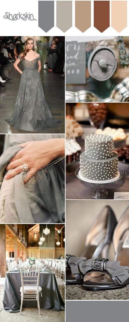 Pantone F/W 2016 decoración bodas