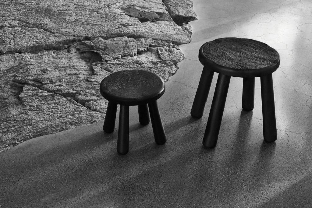 Colección Limitada Svärtan de Ikea - taburetes