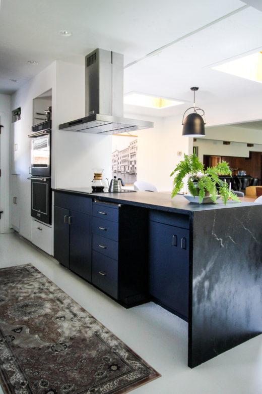 Antes y después de una cocina espacio abierto