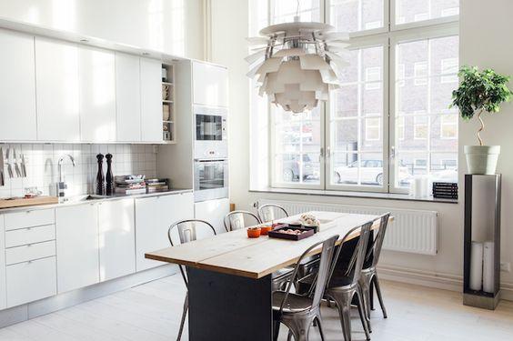 artichoke lamp en cocinas