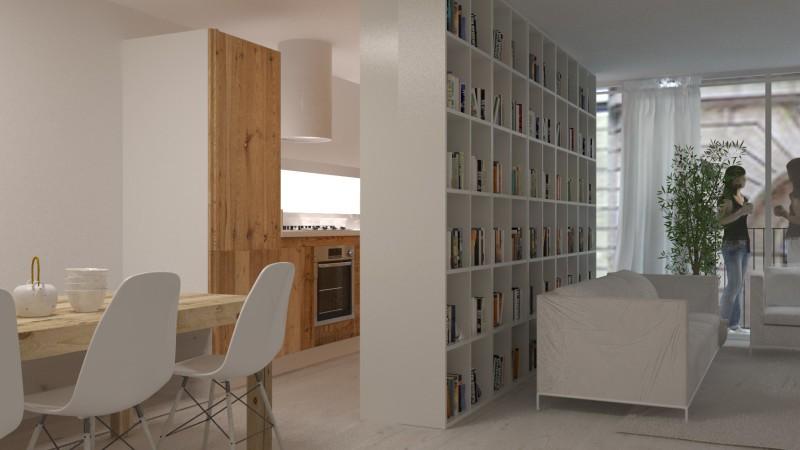 decorar una casa nueva y low cost comedor