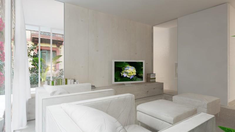 Decorar una casa nueva y low cost sala de televisión
