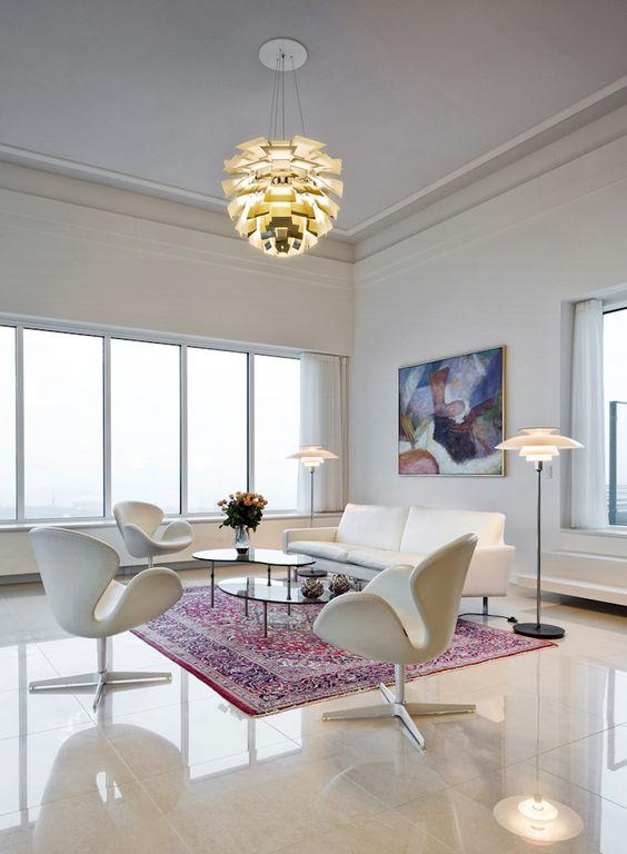 artichoke lamp en salones