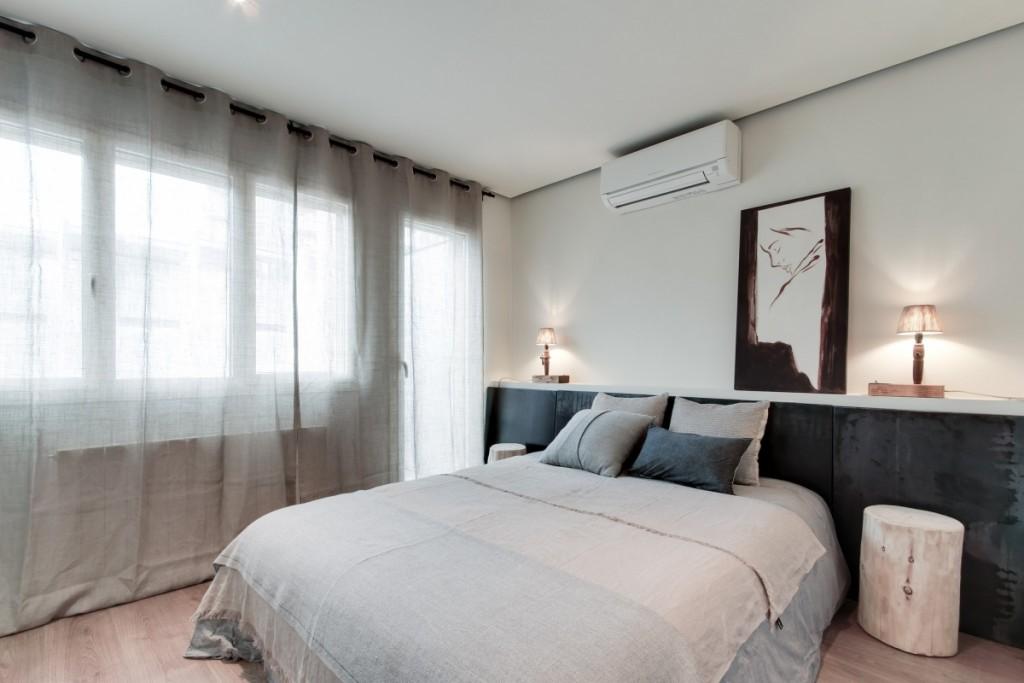 Reforma de un piso antiguo dormitorio