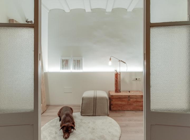 Reforma de un piso antiguo iluminación