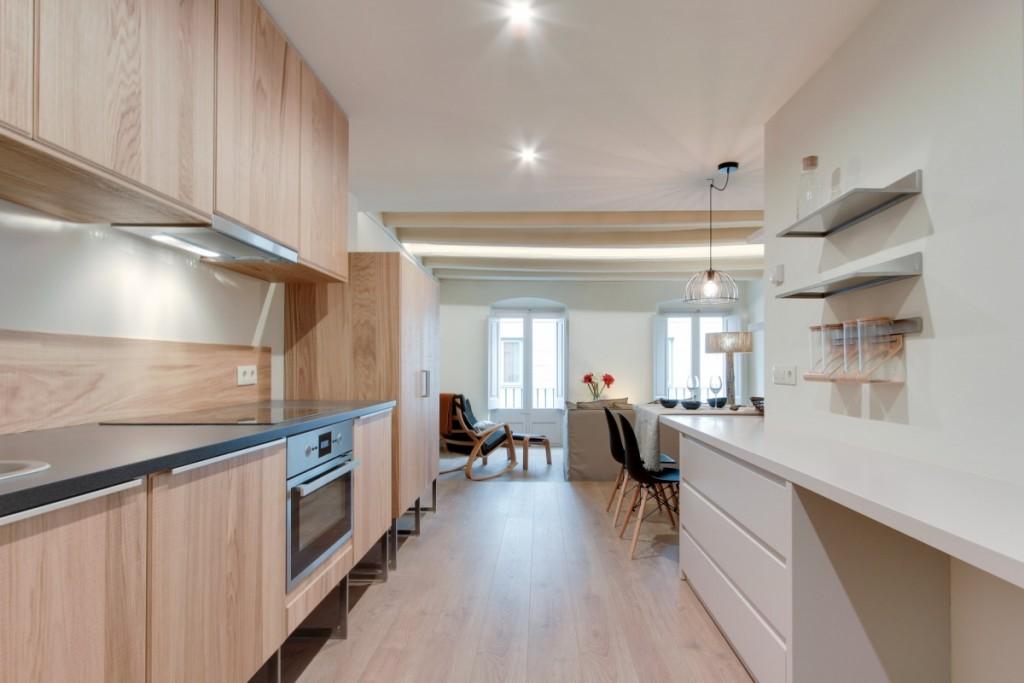 Reforma de un piso antiguo cocina