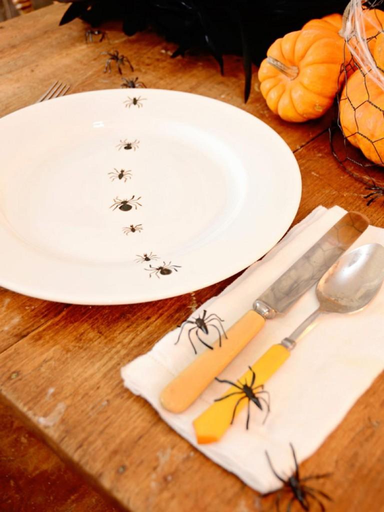 Ideas sencillas para Halloween Mesa