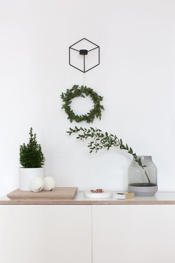 decoracion navideña estilo nórdico