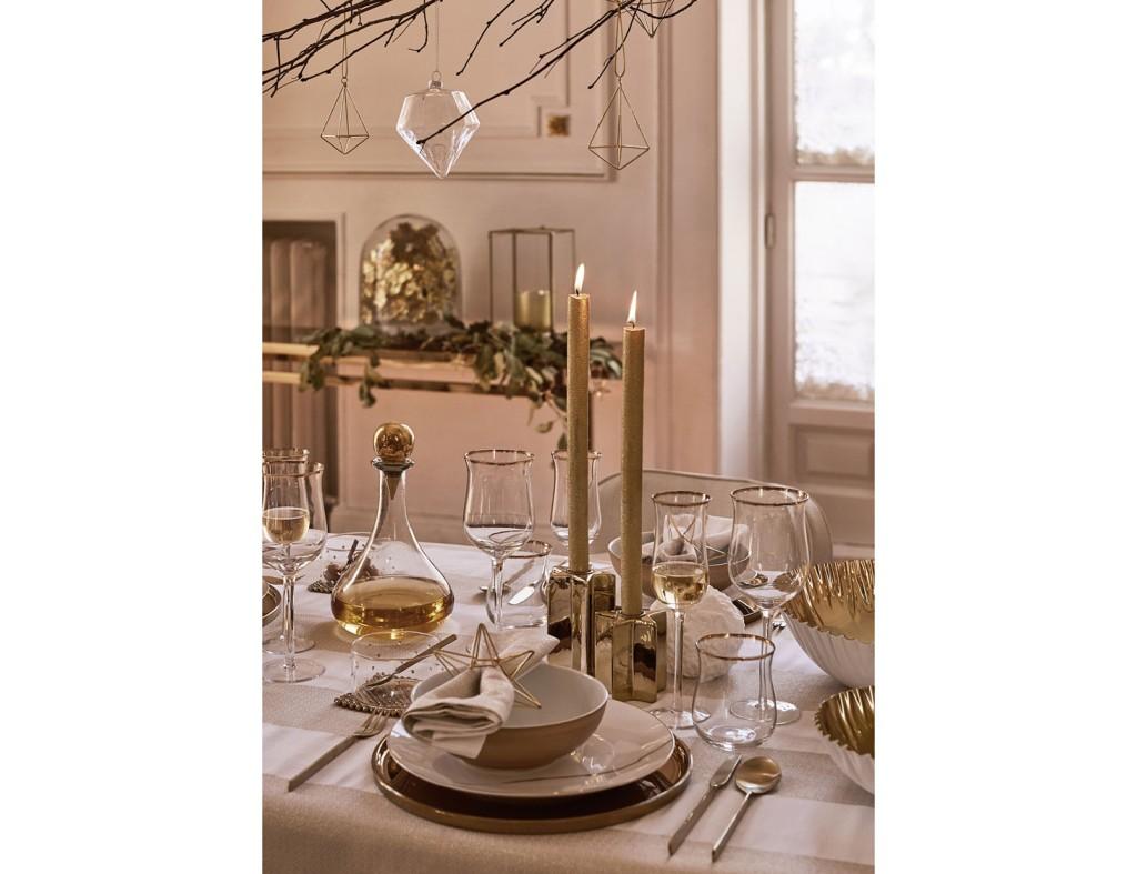 Mesas de Navidad 2017 Golden