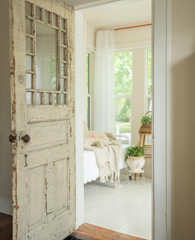 Casa de cuento - detalles puerta