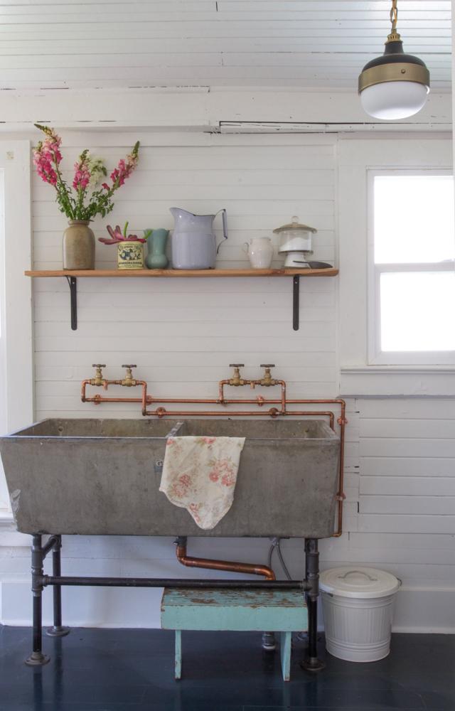 Casa de cuento - lavandería