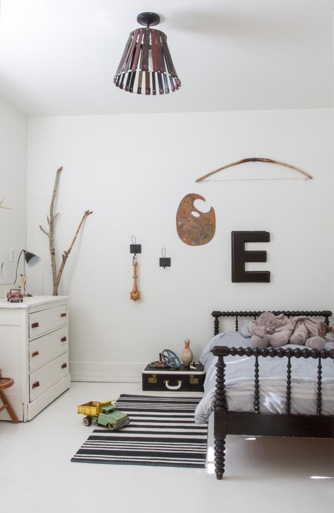 Una casa de cuento - habitación infantil