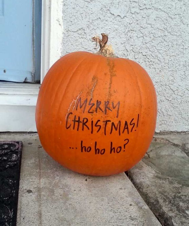 Christmas Fail Calabaza