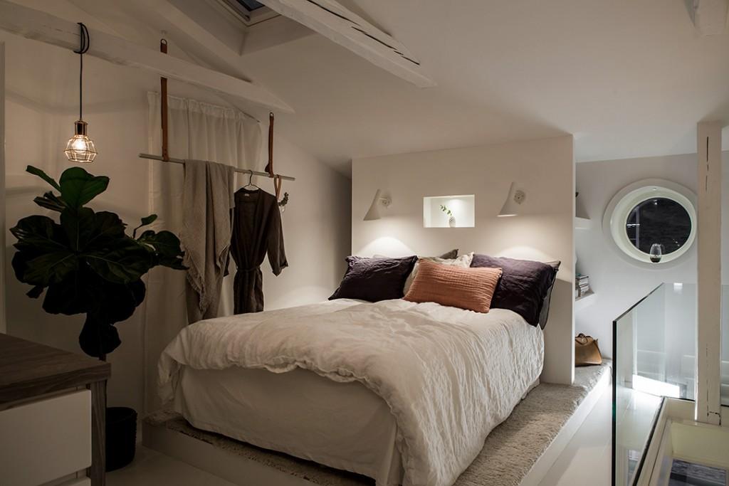 Estilo nórdico en el dormitorio