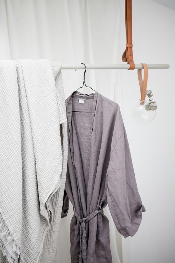 estilo nórdico en el dormitorio detalles