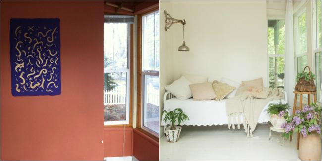 Casa de cuento - antes y después mirador