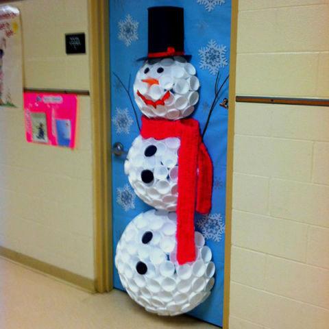 Christmas Fail muñeco de nieve